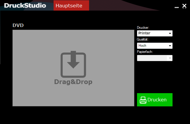 DruckStudio full screenshot